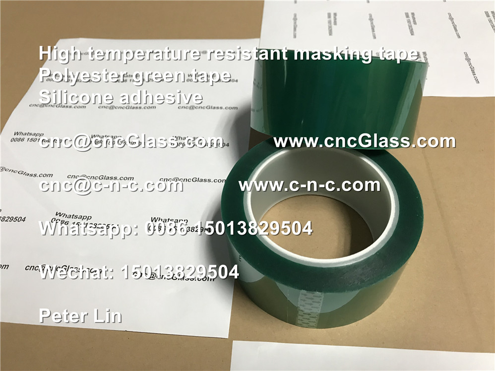 Insulation green high temperature masking protection